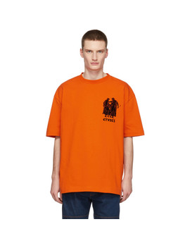Orange Museum T Shirt by Études