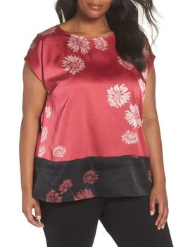 Chateau Floral Print Top by Vince Camuto