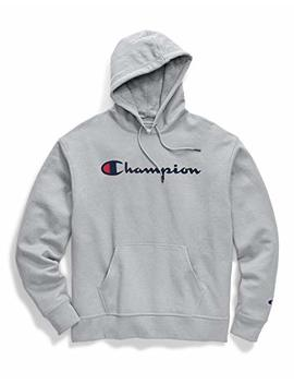 Champion Men's Graphic Powerblend Fleece Hood, by Champion