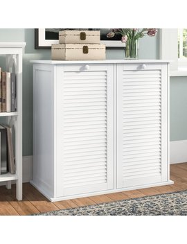 Beachcrest Home Cabinet Laundry Hamper & Reviews by Beachcrest Home