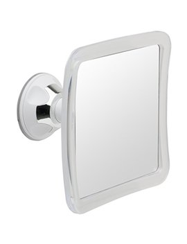 Mirrorvana Fogless Shower Mirror For Shaving With Lock Suction Cup, 6.3 X 6.3 Inch by Mirrorvana