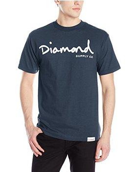 Diamond Supply Co. Men's Og Script T Shirt by Diamond Supply Co