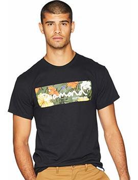 Diamond Supply Co. Mens Aloha Floral Logo T Shirt by Diamond Supply Co
