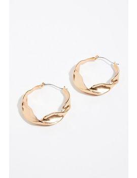 Bell Hoop Earrings by Free People