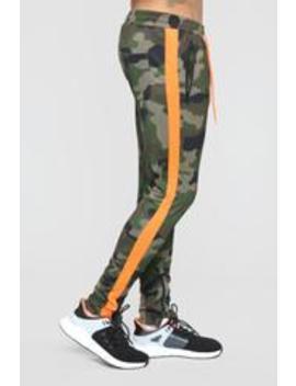 Sam Track Pants   Camo by Fashion Nova
