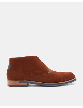 Suede Desert Boots by Ted Baker