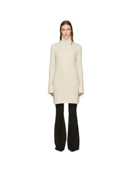 White Wool Tunic Dress by Joseph
