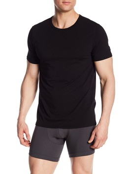 Crew Neck Short Sleeve Modal Tee by Nordstrom