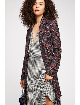 Fox Trot Equestrian Coat by Free People