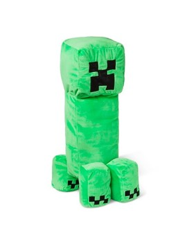 "Minecraft Creeper 14""X7"" Pillow Buddy Green by Target"