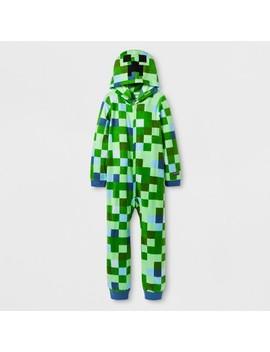 Boys' Minecraft Union Suit   Green by Minecraft