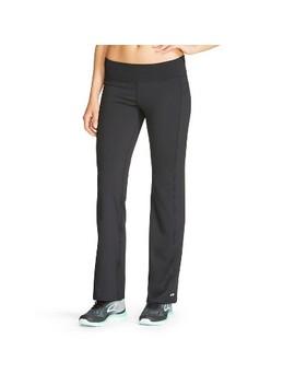 Women's Everyday Straight Mid Rise Pants   C9 Champion® Black by C9 Champion®
