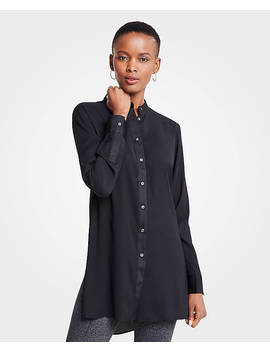 Matte Shine Tunic by Ann Taylor