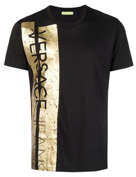 Logo Trim T Shirt by Versace Jeans
