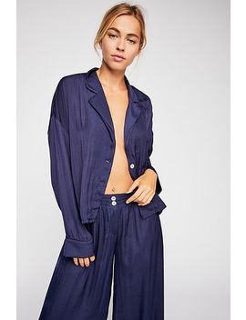 Take Your Tie Off Lounge Top by Free People