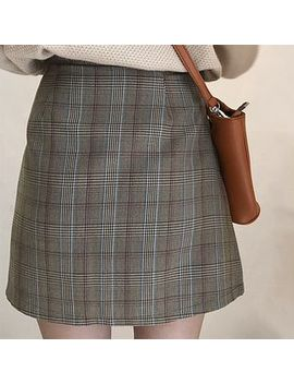 Dute   Plaid Mini Skirt by Dute