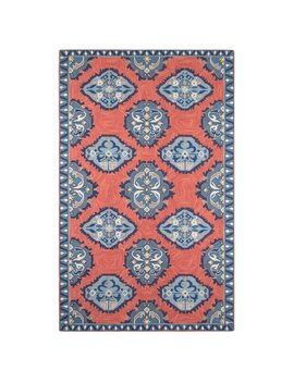 Company C Old Glory Hand Hooked Wool Red/Blue Area Rug by Company C