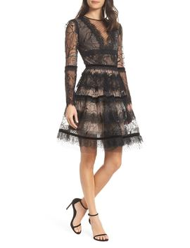 Bronx And Branco Lolita Embellished Fit And Flare Dress by Bronx And Banco