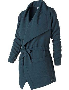 New Balance Women's Studio Tie Waist Jacket by New Balance