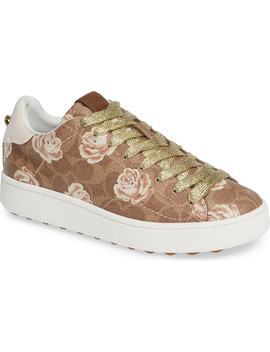 Floral Low Top Sneaker by Coach