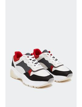 Moving On Chunky Sneaker by Nasty Gal