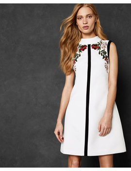 Kirstenboch High Neck Tunic Dress by Ted Baker