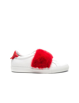 Urban Street Elastic Strap Mink Low Sneaker by Givenchy