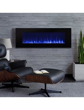 "Di Natale Wall Mounted 50"" Electric Fireplace By Real Flame by Real Flame"