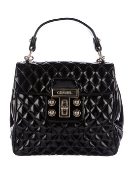 Quilted Mademoiselle Kelly Flap Bag by Chanel