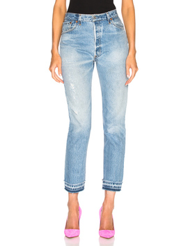 Levi's Released Hem High Rise Ankle by Re/Done