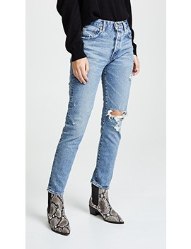 Mvs Isabel High Rise Tapered Skinny Jeans by Moussy Vintage