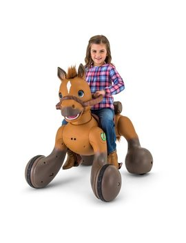 12 Volt Rideamals Scout Pony Interactive Ride On Toy By Kid Trax by Kid Trax