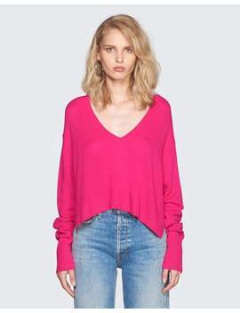 Cashmere V Neck Sweater by Re/Done