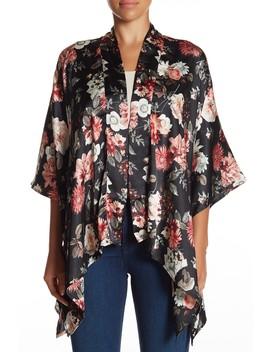 Demure Botanics Short Kimono by 14th & Union