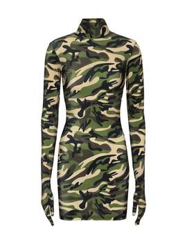 Camouflage Glove Dress by Vetements