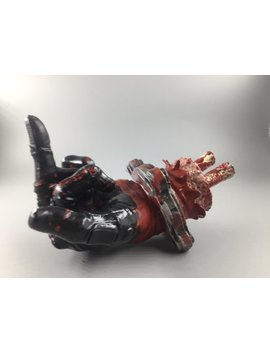 Deadpool Severed Hand Middle Finger by Blakbearddesign