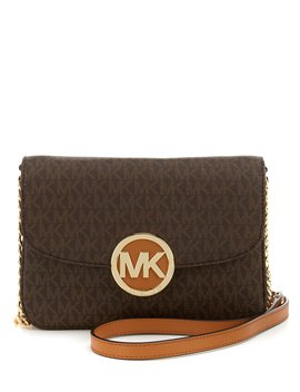Fulton Signature Flap Cross Body Bag by Michael Michael Kors
