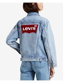 Cotton Ex Boyfriend Denim Jacket by Levi's