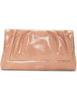 Aisa Leather Clutch by Louise Et Cie