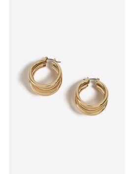 **Three Tube Hoop Earrings by Topshop
