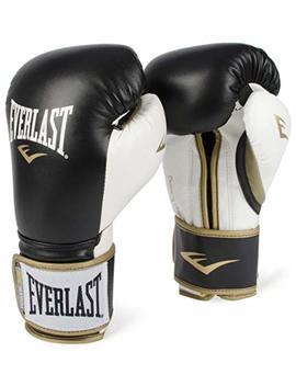 Everlast Power Lock Training Gloves Blk/Wht Power Lock Training Gove, Black/White, 16 Oz by Everlast
