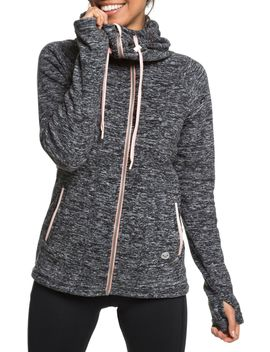 Roxy Women's Electric Feeling Full Zip Hoodie by Roxy