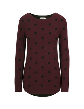 Dot Pullover Sweater by Ricki's