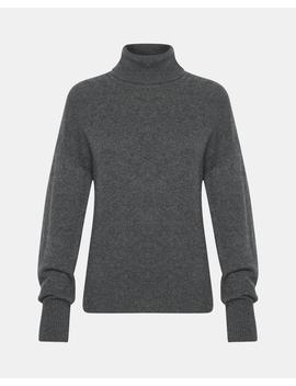 Cashmere Drop Shoulder Turtleneck by Theory