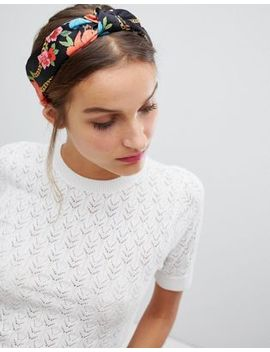 Stradivarius Chain Print Headband by Stradivarius