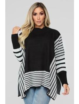 Not The Only One Sweater   Black by Fashion Nova