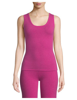 Cashmere Tank Top by Neiman Marcus Cashmere Collection