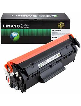 Linkyo Compatible Toner Cartridge Replacement For Hp 12 A Q2612 A (Black) by Linkyo