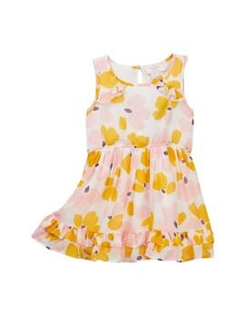 Ruffle Back Dress (Toddler & Little Girls) by Kate Spade New York