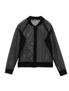 Women Sexy See Through Zipper Blouse Long Sleeve Sheer Jackets Beachwear by Unbranded